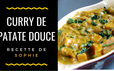 Curry de patate douce